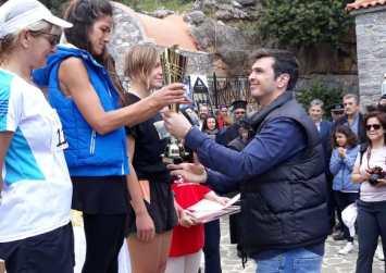 Ο Α. Μαρκογιαννάκης στον 25ο αγώνα δρόμου Ι.Μ Κουδουμά