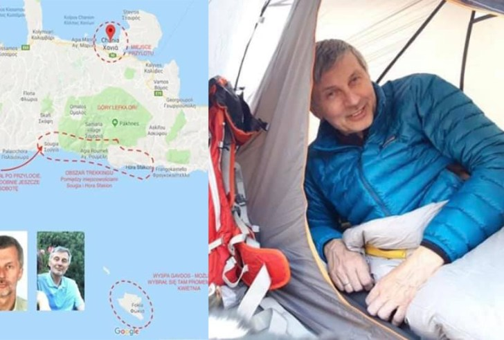 Κρήτη: Με αμείωτο ρυθμό οι έρευνες για τον τον Πολωνό περιηγητή