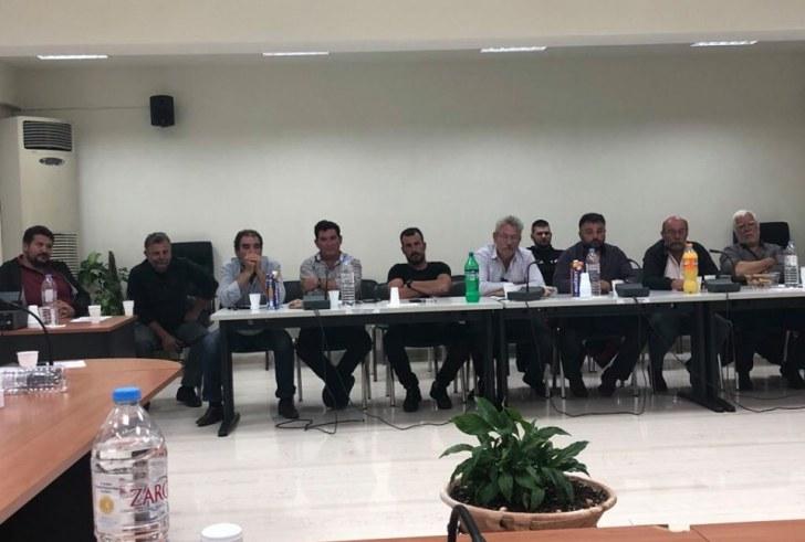 Συντονιστική σύσκεψη φορέων πολιτικής προστασίας στο Δήμο Αγίου Βασιλείου