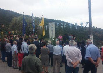 Την Κυριακή το μνημόσυνο πεσόντων στις Καμάρες