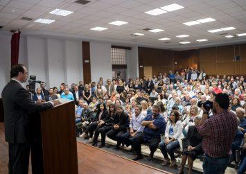 Βίντεο από την Ομιλία του Υποψήφιου Δημάρχου  Φαιστού Ιωάννη Μαθιουδάκη στο Πολύκεντρο Μοιρών