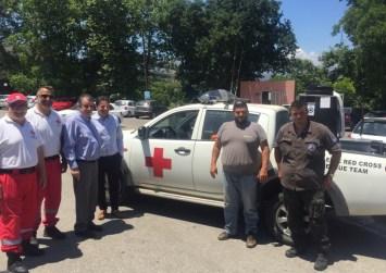 Ο Δήμος Αγίου Βασιλείου παραχώρησε πυροσβεστική αντλία τον Ελληνικό Ερυθρό Σταυρό