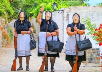 To Κρητικό «La Casa de Papel» είναι εδώ: Η Θεία Μαρίκα οργανώνει την τέλεια νοθεία