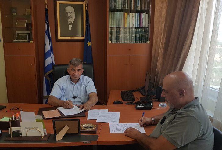 Συμβάσεις έργων ύψους 910.000 ευρώ στο Δήμο Αμαρίου