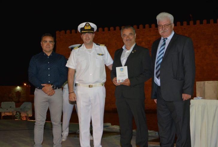 Τον Παγκρήτιο Όμιλο Φουσκωτών Σκαφών τίμησε το Λιμενικό Σώμα