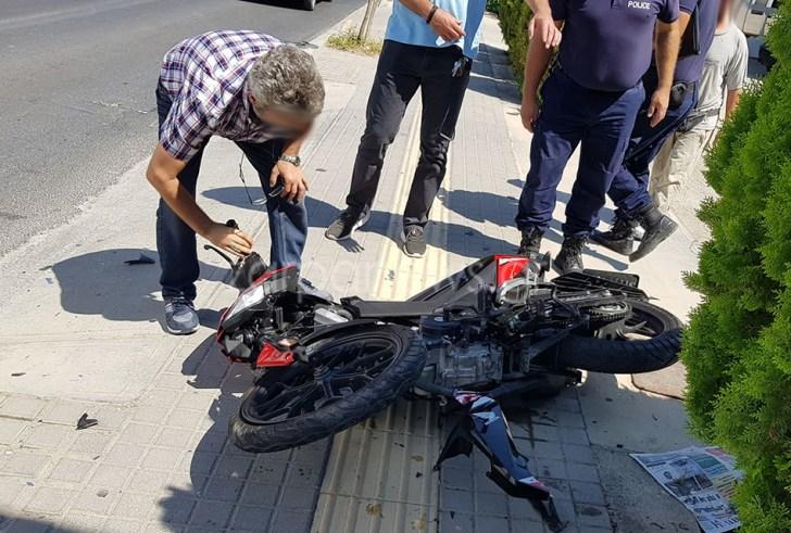 Ρέθυμνο: Σοβαρό τροχαίο – Τραυματίστηκε 33χρονος δικυκλιστής