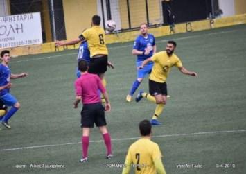 Ο Ρωμανός κέρδισε 2-0 τις Μοίρες