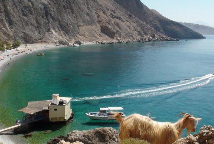 Η εξαιρετική παραλία Γλυκά Νερά στη νοτιοδυτική Κρήτη (φώτο)