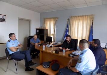 Συνάντηση Λευτέρη & Μιχάλη Κοκολάκη με τον Αστυνομικό Διευθυντή Ηρακλείου (φώτο)