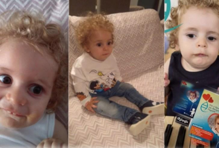 Μια γροθιά οι Έλληνες για τον μικρό Ραφαήλ: 800.000€ έχουν συγκεντρωθεί