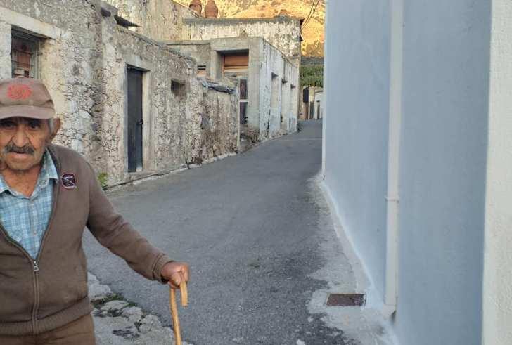 Ο 88χρονος από το Φουρφουρά που χάραξε τη στράτα του Ψηλορείτη