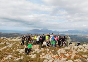 Ο Ορειβατικός Σύλλογος Μοιρών σε Λίσταρο – Πηγαϊδάκια- Πόμπια (φώτο)