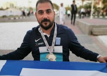 Μανόλης Στεφανουδάκης: Είχα στόχο την πρώτη εξάδα και προέκυψε μετάλλιο!