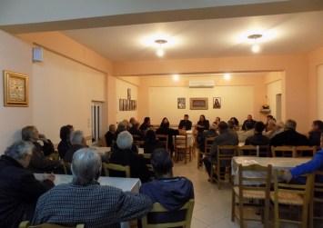 Συνάντηση με κατοίκους των Στερνών για το έργο της Λιμνοδεξαμενής