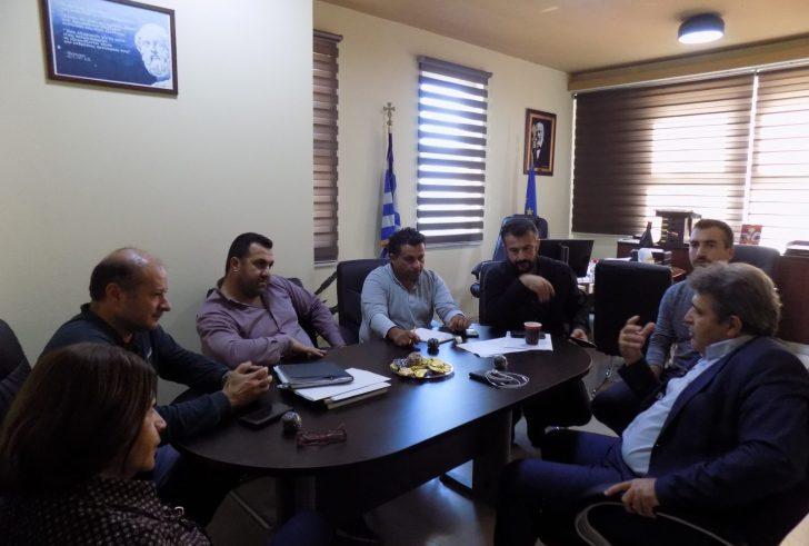 Συνάντηση Κοκολάκη με τον βουλευτή Ηρακλείου, Νίκο Ηγουμενίδη