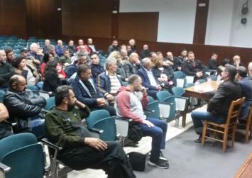 Ανοικτή συγκέντρωση πραγματοποιήθηκε στο Πολύκεντρο Μοιρών από το πολιτικό κόμμα Λ.Ε.Υ.Κ.Ο.
