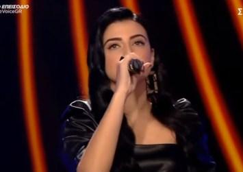 Στα live του «The Voice» η Τυμπακιανή Κωνσταντίνα που συνεχίζει να εντυπωσιάζει!