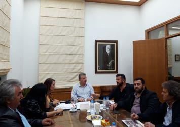 Συνάντηση Κοκολάκη με τον περιφερειάρχη για το έργο της Λιμνοδεξαμενής Στερνών