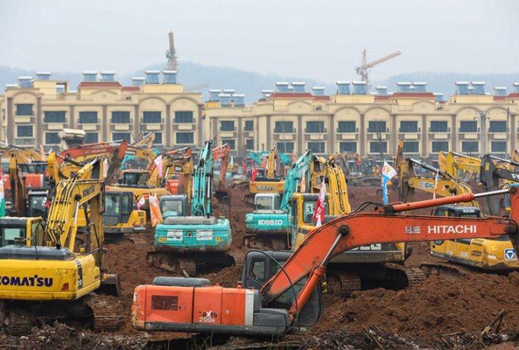 Κοροναϊός – Κίνα: Χτίζουν νοσοκομείο για τους ασθενείς μέσα σε 10 μέρες