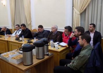 Στην συνεδρίαση του ΣΟΠΠ συμμετείχε ο Δήμαρχος Γόρτυνας