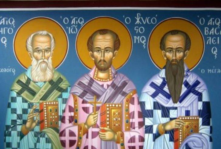 Η Ιερά Αρχιεπισκοπή Κρήτης Τιμά Τους Τρεις Ιεράρχες