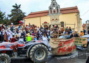 Την Καθαρά Δευτέρα το 39ο Αγιοβαρβαρίτικο Καρναβάλι