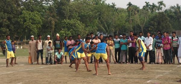 ঈশ্বরগঞ্জে স্বাধীনতা দিবসে কাবাডি প্রতিযোগিতা