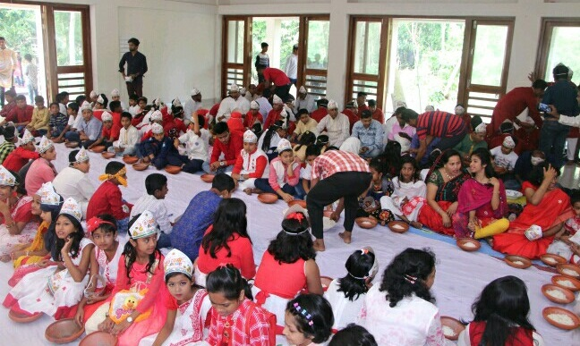 গৌরনদীতে পহেলা বৈশাখ উপলক্ষে মঙ্গল শোভাযাত্রা অনুষ্ঠিত