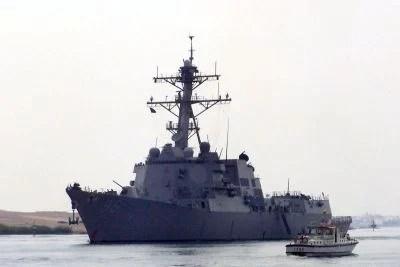 Dos buques de la marina iraní atracaron en un puerto de Sudán