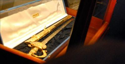 Una réplicade la espada de Bolívar será para Limardo
