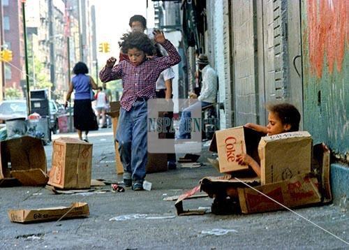 Pobreza en EEUU deja a 19000 nios sin techo en Nueva York