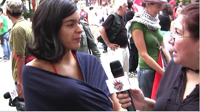Jóvenes madres opinan sobre el conflicto
