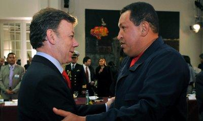Este es el segundo pronunciamiento que por la salud del presidente venezolano hace el mandatario colombiano.