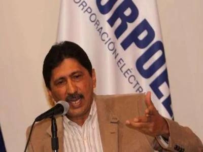 El Presidente de Corpoelec, Argenis Chávez