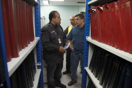 Director general del Servicio Autónomo de Registros y Notarías (Saren), Leoncio Guerra