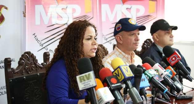 Ministra del Poder Popular para los Servicios Penitenciarios, Iris Varela