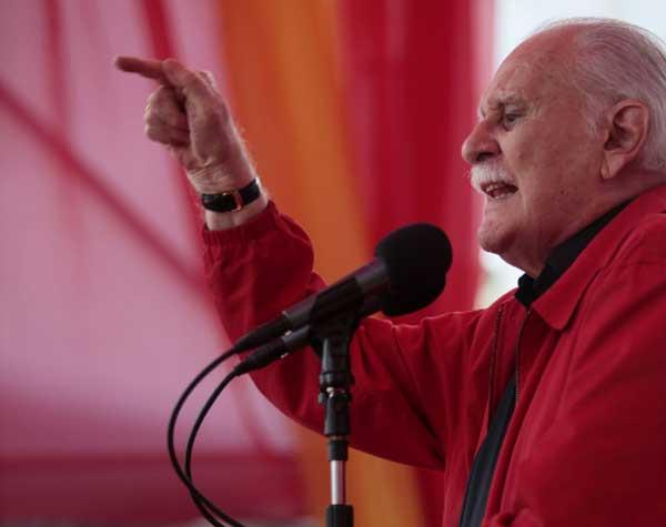 El periodista José Vicente Rangel