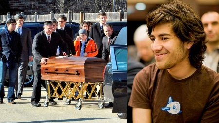 El padre del activista Aaron Swartz dijo durante el funeral que la muerte de su hijo fue intencionada y un acto del Gobierno de EEUU