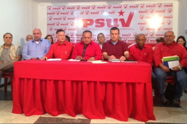 Dirección Nacional del PSUV en el Zulia