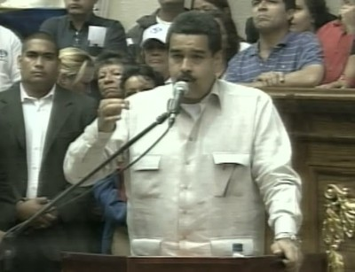 Vicepresidente Nicolás Maduro