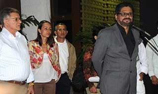 Comisión negociadora de las Farc-Ep en Cuba