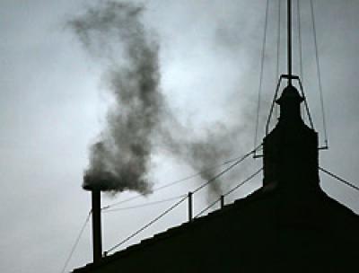 Humo negro en el Vaticano