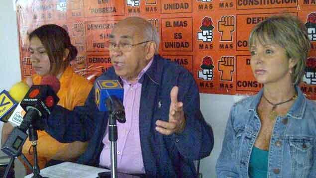 Segundo Meléndez, del MAS