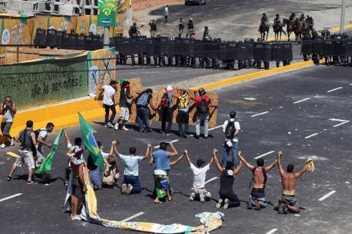 Manifestantes convocaron a nuevas protestas en al menos 12 estados de Brasil