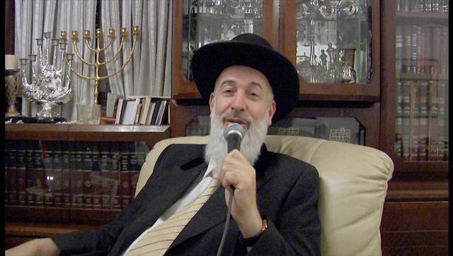 El gran rabino askenazí de Israel, Yona Metzger