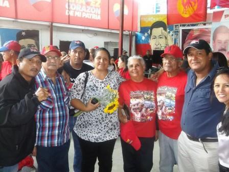 Grupo de candidatos y candidatas del GPP en el municipio Diego Ibarra,de Carabobo