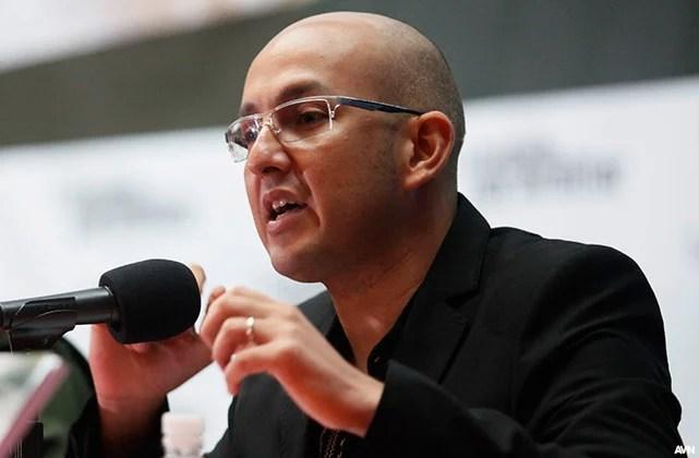 el politólogo y dirigente revolucionario Miguel Pérez Pirela