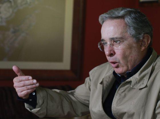 El ex presidente de Colombia, Álvaro Uribe