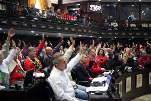 Asamblea Nacional sancionó la Ley Habilitante