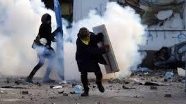 Violencia en Kiev, capital de Ucrania